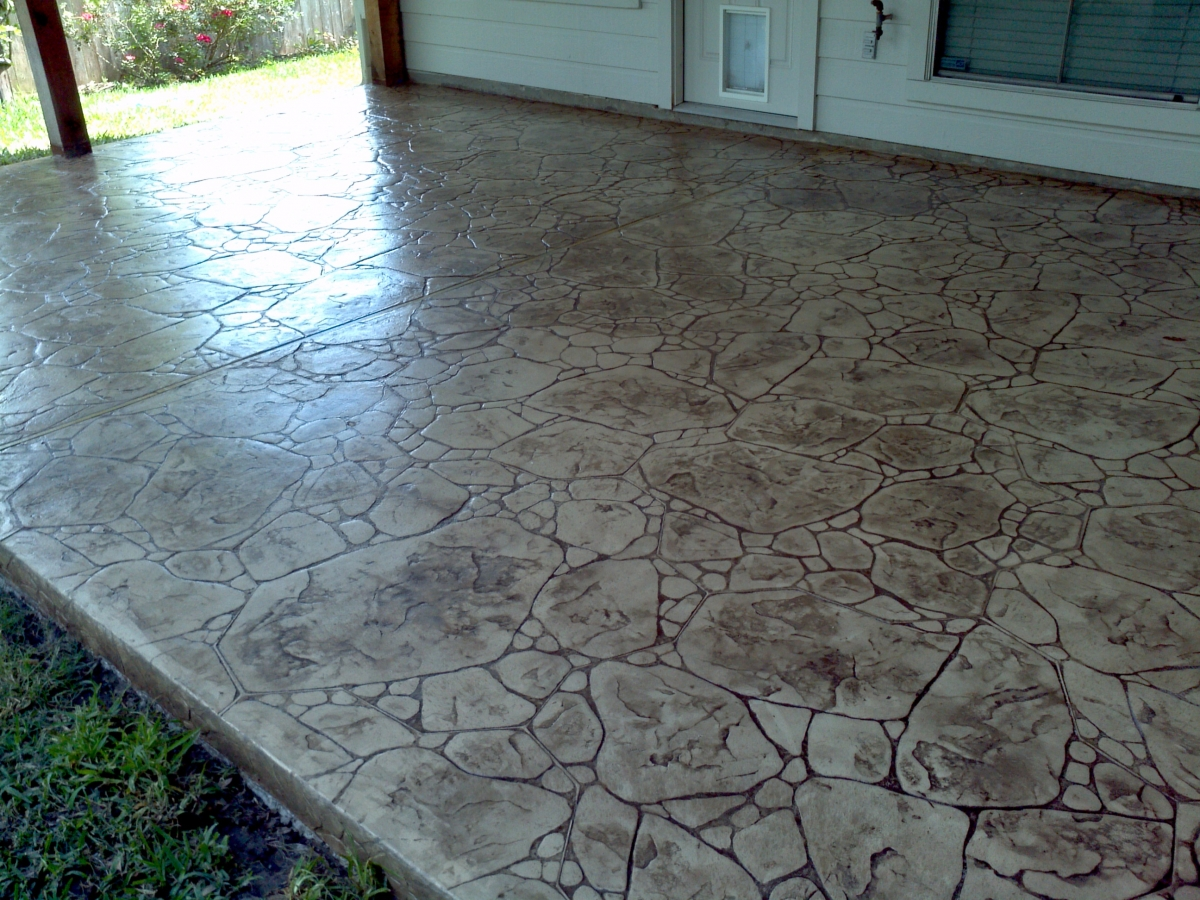 Stamped Concrete Panels : Concrete cleaning and moisture products houston texas area
