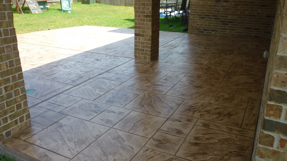 Stamped Concrete Panels : Stamped concrete products houston s decorative