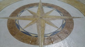 Old World Compass Rose