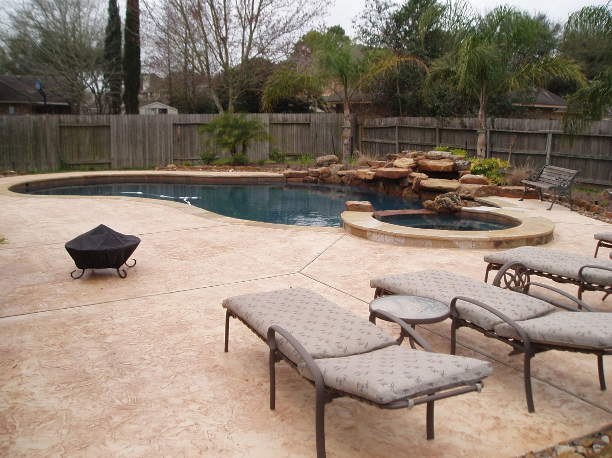 Stamped Concrete Products Houston S Decorative Concrete